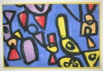 """A Colorful Group of Shapes"" Jasmine Soucy, Mt. Vernon Elementary School, Grade 2, Art Teacher: Dona Seegers"