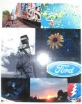 """Life Collage"" Jimmy Cumming, Maranacook Community High School, Grade 12, Art Teacher: Linda Nichols Phillips"