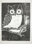 """Owl"" BreAnna Dunbar, Maranacook Community High School, Grade 12, Art Teacher: Linda Nichols Phillips"