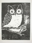 """Owl"" BreAnna Dunbar, Maranacook Community High School, Grade 12, Art Teacher: Linda Nichols Phillips"