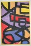 """Shapes of Wonder"" Emily Hayes, Mt. Vernon Elementary School, Grade 2, Art Teacher: Dona Seeger"