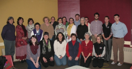 Participants and facilitators at the end of a productive day!