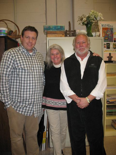 David Shenett, Beth Nowers, Gary Phipps