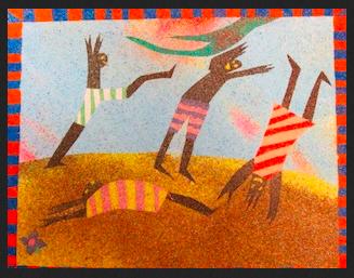"""Playing"", by Jo-Hanna Drayton of Skowhegan Middle School, grade 8"