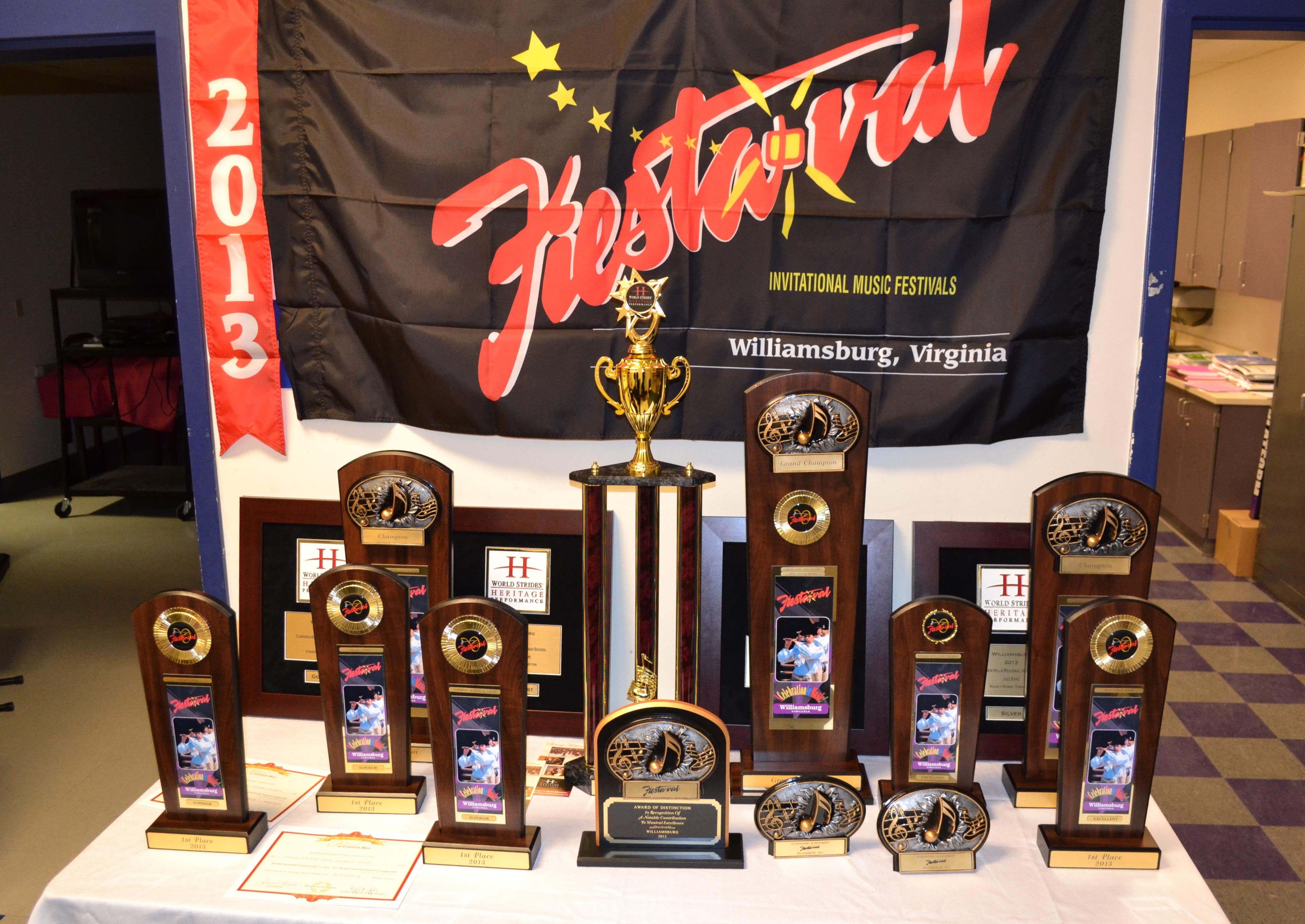Virginia Beach trophies
