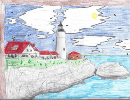 Kevin Duplessie, Grade 8, Caribou Middle School