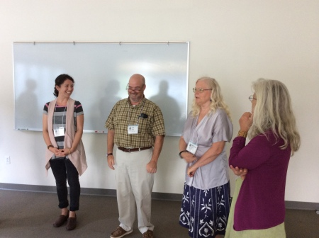 What is a Teaching Artist? session facilitated by Nancy Salmon