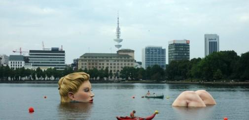 Hamburg mermaid