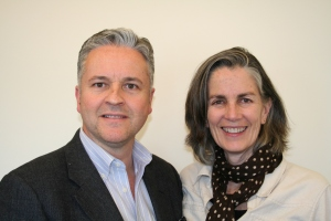 Manuel Bagorro and Monica Kelly