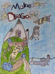 Artwork by Hannah Troiano, grade 2, Saccarappa School, Westbrook