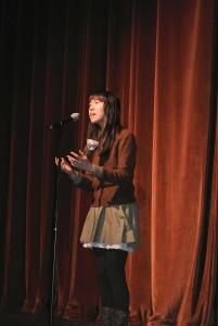 Rose Horowitz reciting