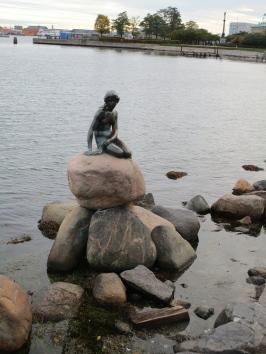 The Little Mermaid, Copenhagen Harbor