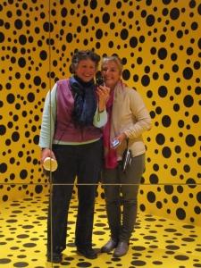 Louisiana Modern Art Museum, Kusama's artwork