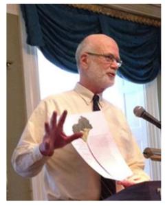 Wesley McNair at Poetry Day, 2014