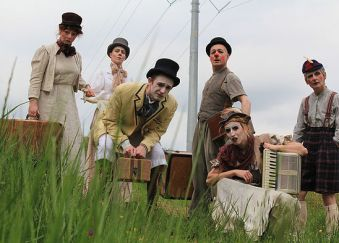 Happenstance Theater's Brouhaha, coming to Celebration Barn on August 20, 2016