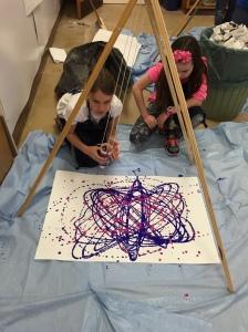 Pendulum Painting