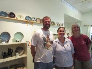 Jeff Orth, Beth Lambert, and Gloria Hewett