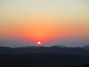 Sunset in Malawi