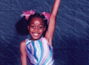 Khori as a young performer - image from the Upworthy site.