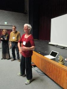 Teaching Artist and dancer Nancy Salmon